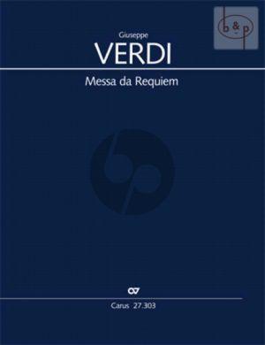 Messa da Requiem (SMsTB soli-SATB-Orch.) (Vocal Score)
