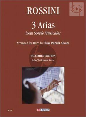 3 Arias from Soiree Musicales (arr. E. Parish Alvars)