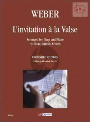 L'invitation a la Valse (arr. E.Parish Alvars) (Harp or Piano) (both parts incl.)