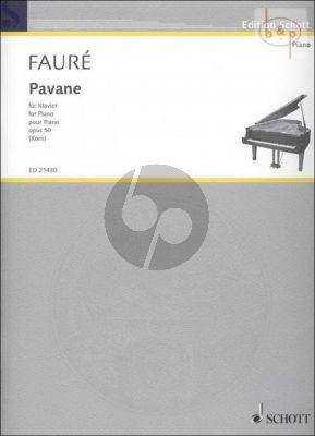 Faure Pavane Op.50 Piano solo (arr. Uwe Korn)