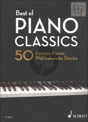 Best of Piano Classics 50 Famous Pieces Softcover