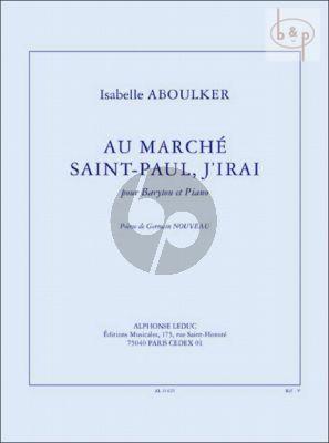 Au Marche Saint-Paul, j'irai