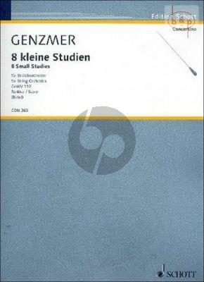 8 kleine Studien GeWV 110 (String Orch.)