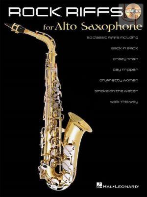 Rock Riffs for Alto Saxophone