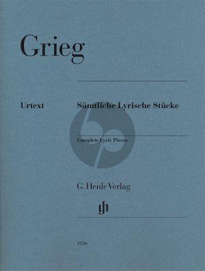 Lyrische Stucke (Samtliche) Klavier