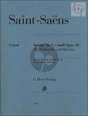 Saint-Saens Sonate No.1 c-minor Op.32 Violoncello-Piano
