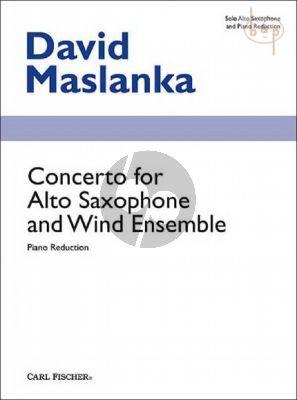 Concerto Alto Saxophone with Wind Ensemble