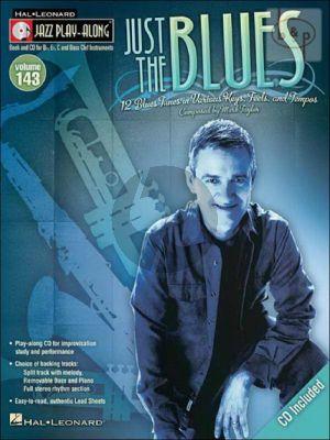 Just the Blues Bk-Cd (Jazz Play-Along Series Vol.143)
