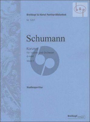 Concerto d-minor WoO 1 Violin-Orchesta Study Score