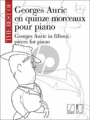 The Best of Georges Auric for Piano solo