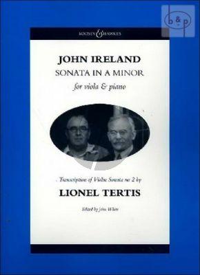 Sonata a-minor for Viola and Piano