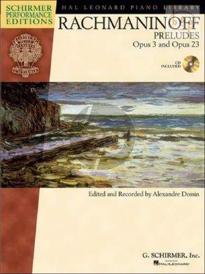 Rachmaninoff Preludes Op.3 and Op.23 (Bk-Cd)