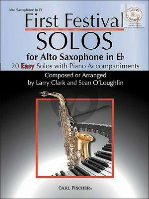 First Festival Solos for Alto Saxophone (20 Easy Solos)