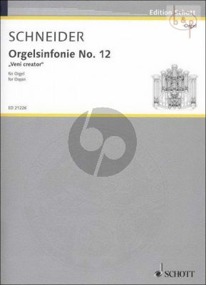 Orgelsinfonie No.12 Veni Creator