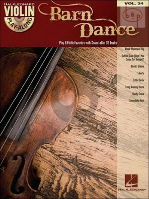 Barn Dance (Violin Play-Along Series Vol.34) (Bk-Cd)