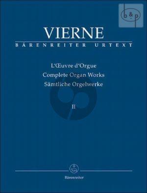 Samtliche Orgelwerke Vol.2 Symphonie No.2 Op.20