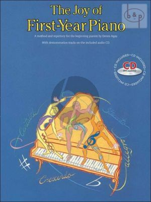 The Joy of First Year Piano Bk-Cd