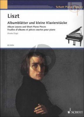 Albumblatter und kleine Klavierstucke