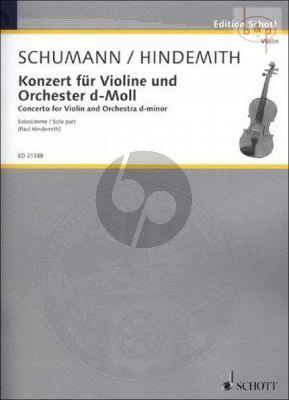 Concerto d-minor WoO 1 (Violin-Orch.)