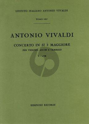 Vivaldi Concerto Si-bemolle Op.XII no.5 RV 379 F.I n.86