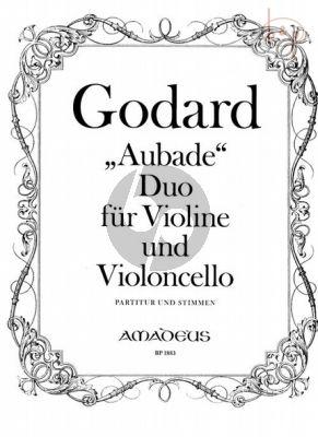 """Duo """"Aubade"""" Op.133 Violin-Violoncello"""