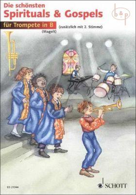 Spirituals & Gospels (Trumpet) (with 2nd. Part)
