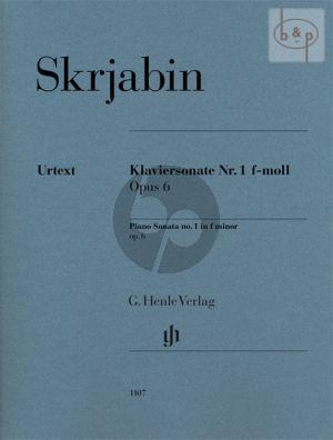 Sonata No.1 f-minor Op.6 (edited by Valentina Rubcova)