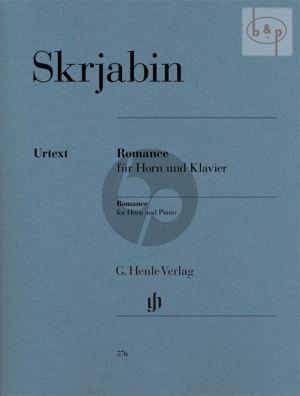 Romance (Horn[F]-Piano) (edited by Dominik Rahmer)