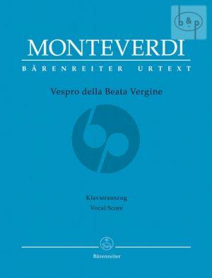 Vespro della Beata Vergine (Soli-Choir-Orch.) (Vocal Score)