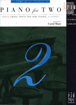 Piano for Two Vol.6