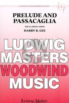 Prelude and Passacaglia (Clar.Choir)