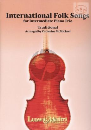 International Folk Songs Violin-Cello and Piano (Score/Parts)