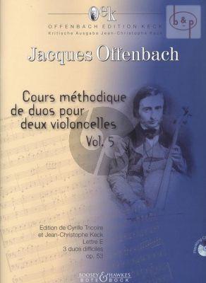 3 Duos Difficiles Op.53 lettre E (Bk-Cd)