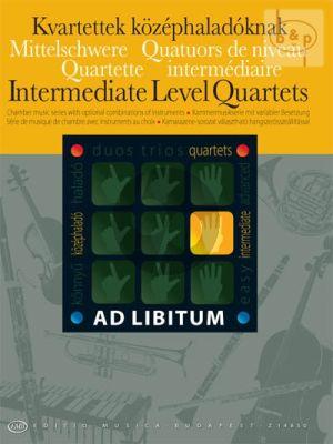 Intermediate Level Quartets for mixed ensemble
