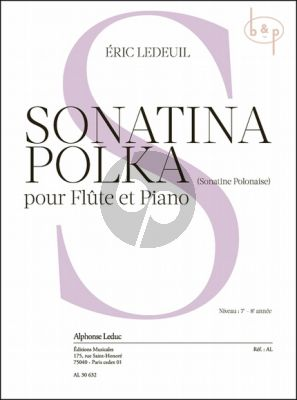 Sonatina Polka Flute and Piano