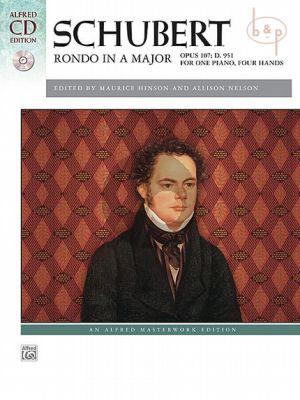 Rondo A-major Op.107 D.951