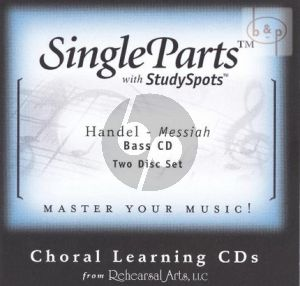 Messiah HWV 56 Bass (2 CD Set)