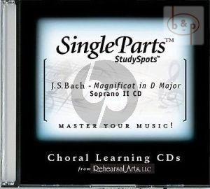 Magnificat D-major BWV 243 (Soprano II)