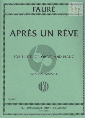 Apres un Reve Flute or Oboe and Piano