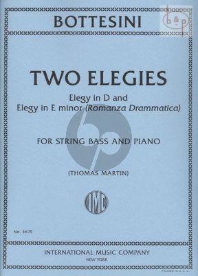 2 Elegies (Elegy in D and Elegy in e-minor