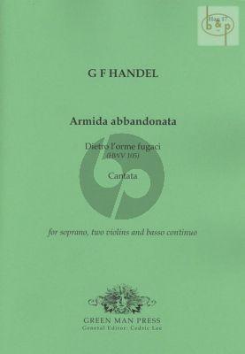 Armida abbandonata (Dietro l'orme fugaci) (Cantata) HWV 105 (Soprano- 2 Vi.-Bc)