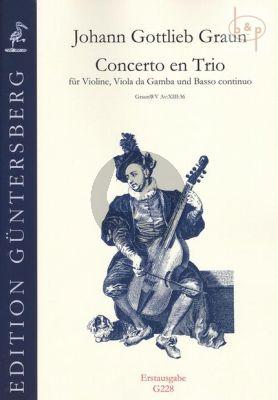 Concerto en Trio (WV AV:XIII:36) (Vi.-Va.da G.- Bc)