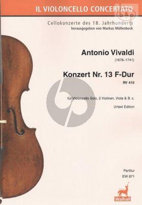 Concerto No.13 F-major RV 410 (Violoncello solo- 2 Vi.-Va.-Bc.)