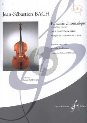 Fantaisie Chromatique (transcr. R.Dubugnon) Bach J.S.