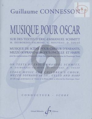 Musique pour Oscar (Children's Choir- Mezzo-Sopr.[opt.]-Violonc.-Harp)