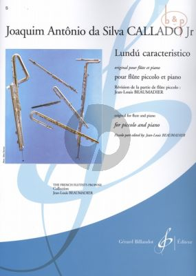 Lundu caracteristico (orig for flute) (arr. Jean-Louis Beaumadier)