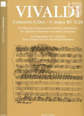 Concerto G-major RV 312R (orig. Violin)