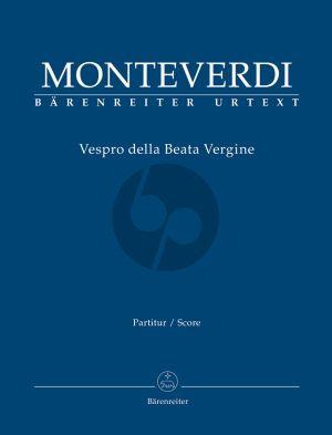Vespro della Beata Vergine (Soli-Choir-Orch.) (Full Score)