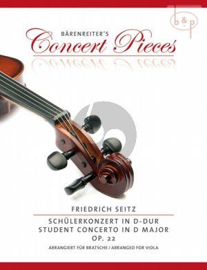 Concerto D-major Op.22 (transposed to G-major)