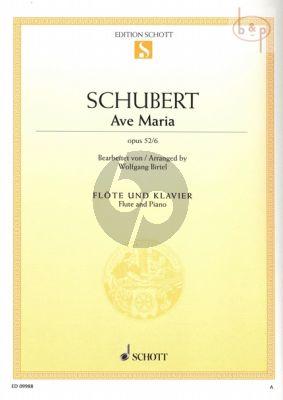 Ave Maria Op.52 No.6 (Flute-Piano)